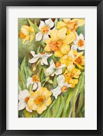 Framed Early Spring Flowers