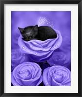 Lilac Daydreams Framed Print