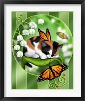 Lily Bells Framed Print