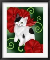 Ruby Cat Framed Print