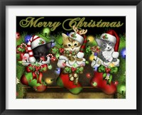 Framed Purrfect Stocking Stuffers