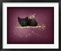 Key of Enchantment Framed Print