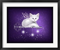 Key of Stars Framed Print