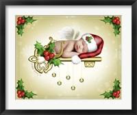 The Christmas Angel Framed Print
