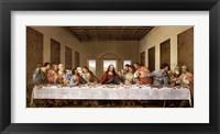 Framed Last Supper