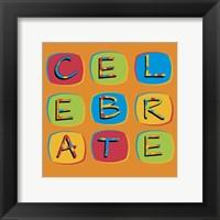 Framed Celebrate