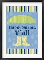 Framed Happy Spring Y'all