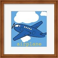 Framed Airplane