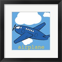 Framed Airplane