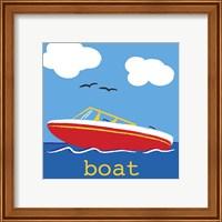 Framed Boat