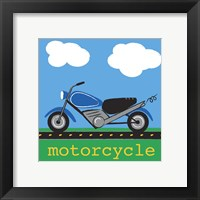 Framed Motorcycle