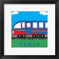 Framed Train - Modern