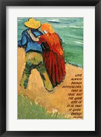 Framed Love -Van Gogh Quote