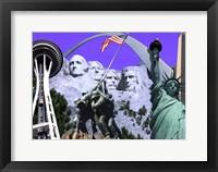 Framed Landmarks and Monuments