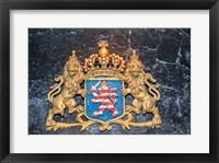 Framed Kupferberg Family Crest