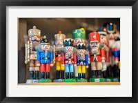 Framed Wooden Nutcrackers