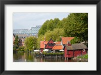 Framed Tivoli Gardens, Copenhagen, Denmark