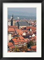 Framed Skyline of Bamberg, Germany