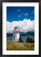 Framed Woody Point Lighthouse