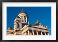 Framed Helsinki, Finland Tuomiokirkko Cathedral