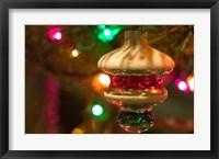 Framed Christmas Tree Ornaments