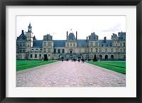 Framed Fontainebleau Palace, France
