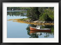 Framed Lobster Boat, Canada