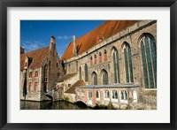 Framed Historic Brugge, Belgium