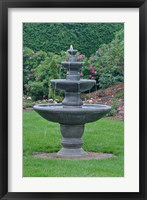 Framed Fountain at KIngsbrae Garden