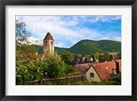 Framed Durnstein, Austria