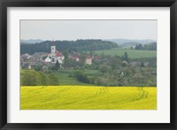Framed Village of Znojmo, Czech Republic