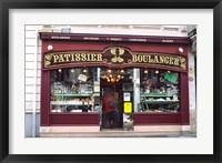 Framed Bakery in France