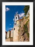 Framed Durnstein Monastery, Austria