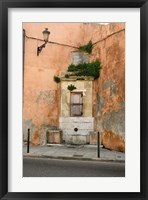 Framed Port and Commercial Town of Corsica, France