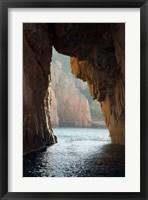 Framed Capu Rossu, Les Calanches UNESCO World Heritage Site