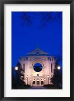 Framed St Boniface Basilica Ruins