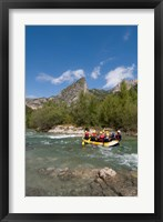 Framed Rafting on Verdon River,  Provence, France