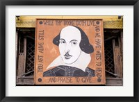 Framed Shakespeare and Company Bookstore, Paris, France