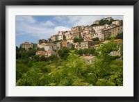 Framed Village of Pieve, Corsica, France