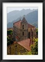 Framed Village of Zicavo, Corsica, France