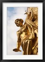 Framed Germany, Leipzig, Gold