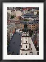 Framed St Thomas Church, Germany