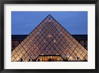 Framed Pyramid, Louvre, Paris, France