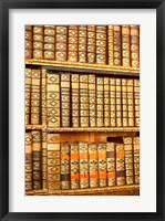 Framed Austria, Melk Abbey library