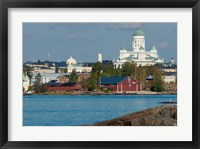 Framed Harbor View, Finland