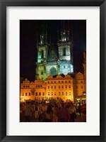 Framed Old Town, Czech Republic