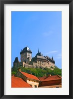 Framed Karlstejn Castle, Czech Republic