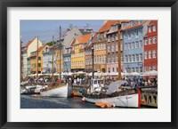 Framed Nyhavn, Copenhagen, Denmark