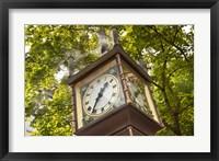 Framed Steam Powered Clock