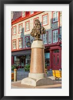 Framed Louis XIV Statue